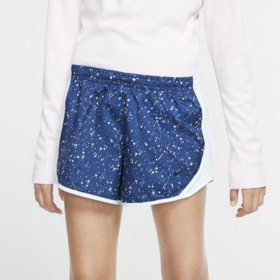 Nike Dri-FIT Tempo Big Kids' (Girls') Printed Running Shorts