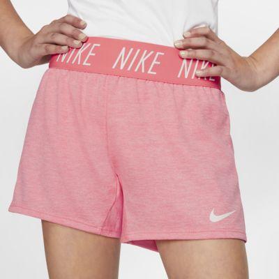 กางเกงเทรนนิ่งขาสั้นเด็กโต Nike Dri-FIT Trophy (หญิง)