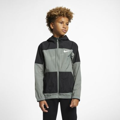 Nike Dri-FIT Web-Trainingsjacke für ältere Kinder