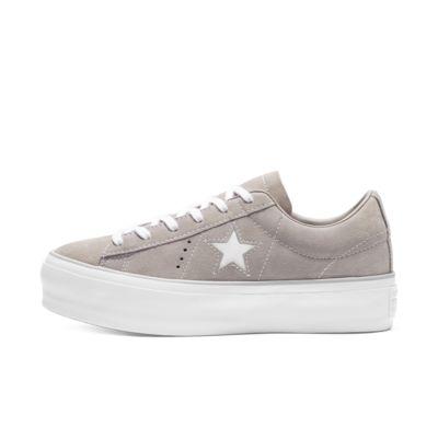 Converse One Star Suede Platform Women's Shoe