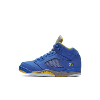 3c55083f4b42ed Air Jordan 5 Laney JSP Little Kids  Shoe. Nike.com