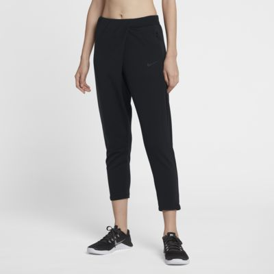 กางเกงเทรนนิ่งเอวปานกลางผู้หญิง Nike Dri-FIT Studio