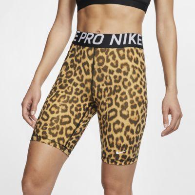 Γυναικείο εμπριμέ σορτς Nike Pro 20 cm