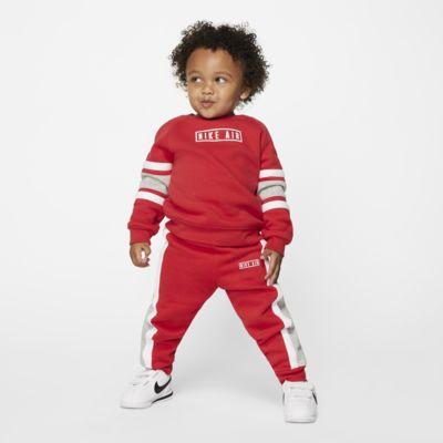 Nike Air Babyset met shirt met ronde hals en joggingbroek