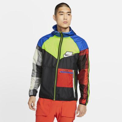 เสื้อแจ็คเก็ตวิ่งผู้ชายพับเก็บได้ Nike