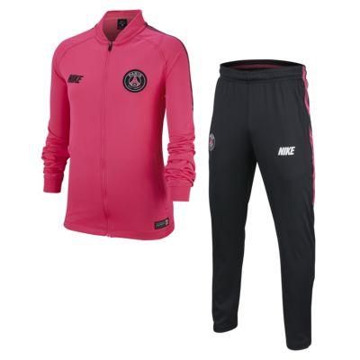 Fotbollsoverall Paris Saint-Germain Dri-FIT Squad för ungdom