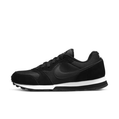 Купить Женские кроссовки Nike MD Runner 2, Черный/Белый/Черный, 15547868, 10817368