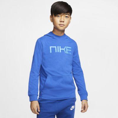 Nike Sportswear Big Kids' (Boys') Jersey Pullover Hoodie