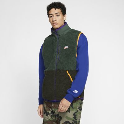 Męski bezrękawnik z dzianiny typu baranek Nike Sportswear