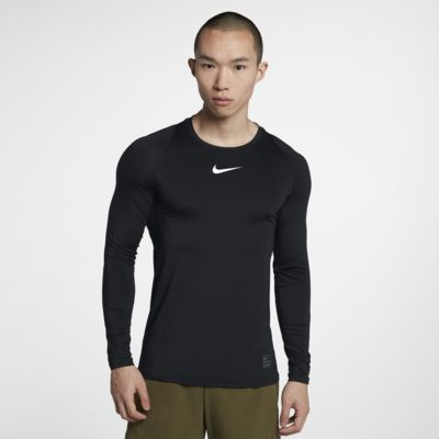 Prenda para la parte superior de manga larga ajustada para Hombre Nike Pro