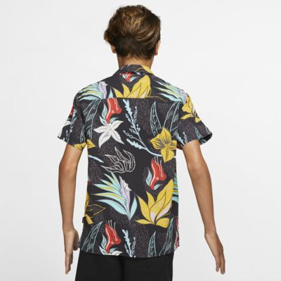 Camisola de manga curta Hurley Domino para rapaz