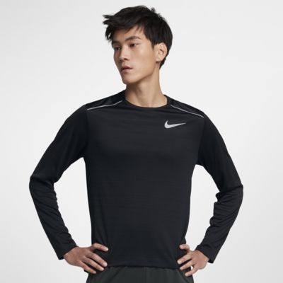 Nike Dri FIT Miler Men's Long Sleeve Running Top
