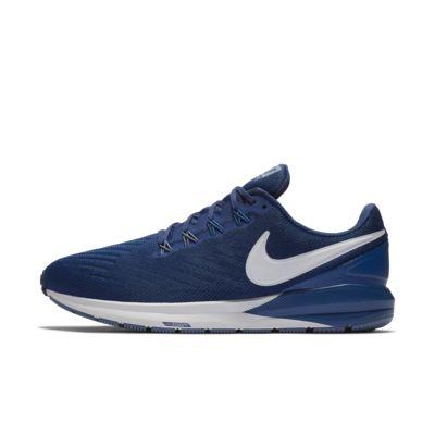 Мужские беговые кроссовки Nike Air Zoom Structure 22 (на очень широкую ногу)
