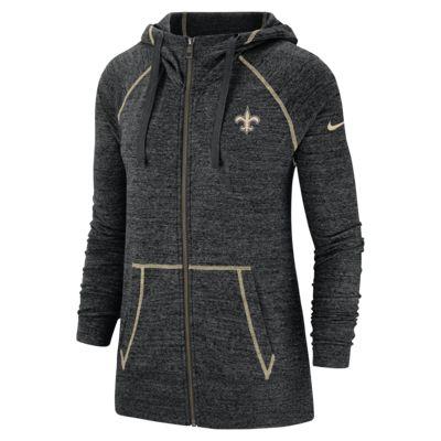Nike Gym Vintage (NFL Saints) Women's Full-Zip Hoodie