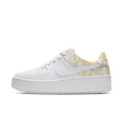 Nike Air Force 1 Sage Low Premium Camo sko til dame
