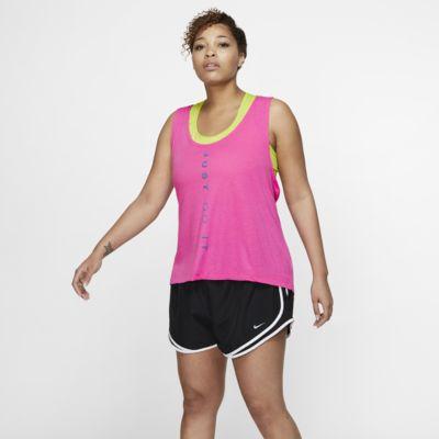 Nike Dri-FIT Miler Lauf-Tanktop für Damen (große Größe)