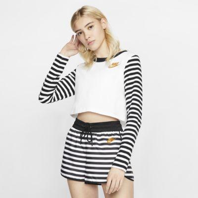 Långärmad tröja Nike Sportswear Animal Print för kvinnor