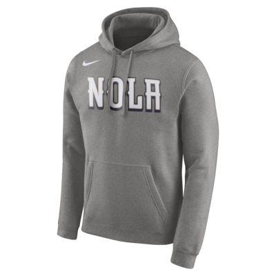 New Orleans Pelicans Nike Men's Logo NBA Hoodie