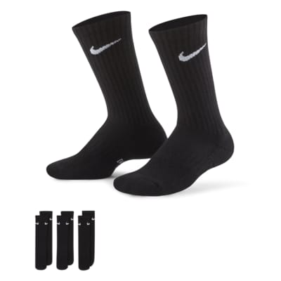 Nike Performance Cushioned Crew treningssokker for barn (tre par)