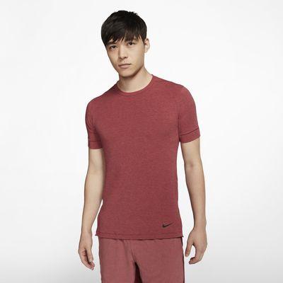 Мужская футболка с коротким рукавом для йоги Nike Dri-FIT