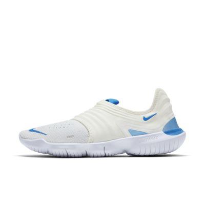 Купить Мужские беговые кроссовки Nike Free RN Flyknit 3,0, Парус/Белый/Светло-голубой свет, 23210658, 12628481
