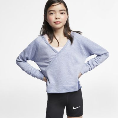 Nike Big Kids' (Girls') Long-Sleeve Reversible Training Top