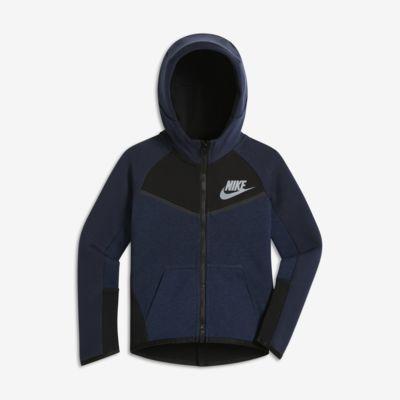 Bluza z kapturem dla małych dzieci (chłopców) Nike Sportswear Tech Fleece