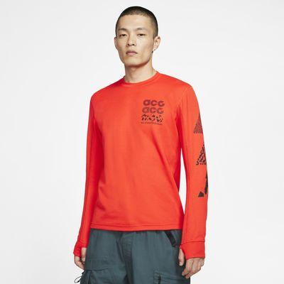 Футболка с вафельным рисунком с длинным рукавом Nike ACG