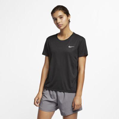 Camisola de running de manga curta Nike Miler para mulher