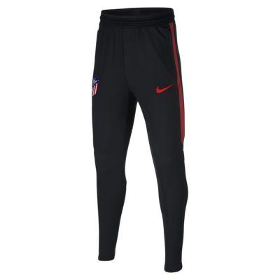 Pantalones de fútbol para niño talla grande Nike Dri-FIT Atlético de Madrid Strike
