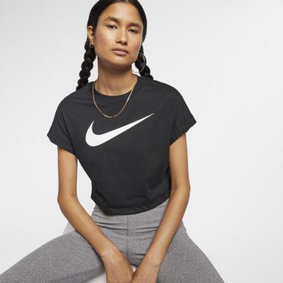 Top ridotto a manica corta con Swoosh Nike Sportswear - Donna