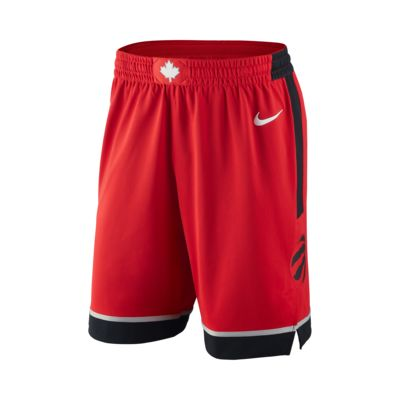 Shorts de NBA para hombre Toronto Raptors Nike Icon Edition Authentic