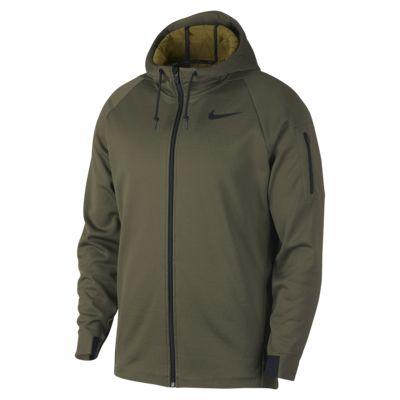 Мужская куртка для тренинга с молнией во всю длину и капюшоном Nike Therma