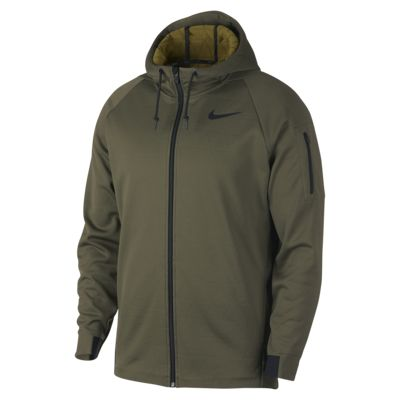 Nike Therma Men's Hooded Full-Zip Training Jacket