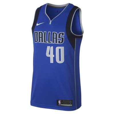 Maillot connecté Nike NBA Harrison Barnes Icon Edition Swingman (Dallas Mavericks) pour Homme