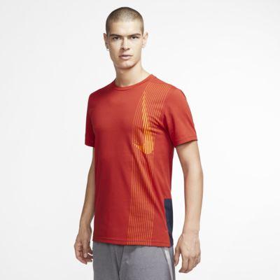 Top de entrenamiento de manga corta para hombres Nike Dri-FIT