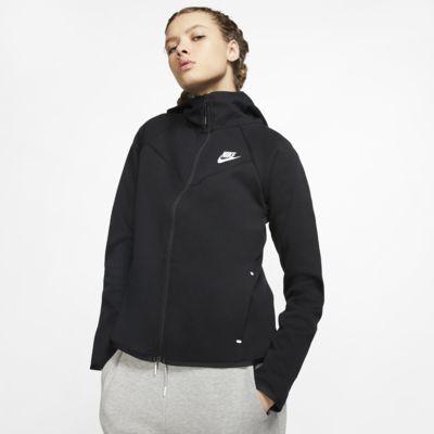 Dámská mikina Nike Sportswear Windrunner Tech Fleece s kapucí a zipem po celé délce