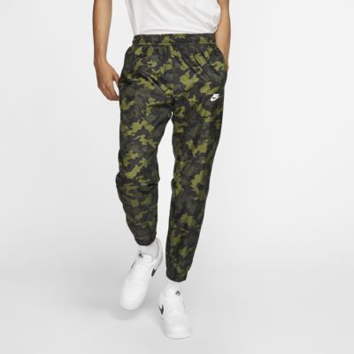 Pantalones de entrenamiento tejidos camuflados para hombre Nike Sportswear
