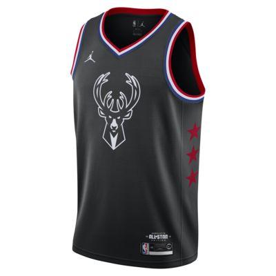 เสื้อแข่ง Jordan NBA Connected ผู้ชาย Giannis Antetokounmpo All-Star Edition Swingman