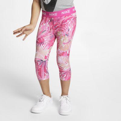 Leggings estampadas a 3/4 Nike para criança