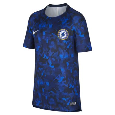Chelsea FC Dri-FIT Squad Older Kids' Football Top