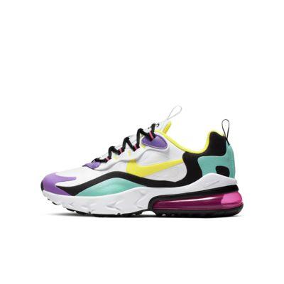 Chaussure Nike Air Max 270 React pour Enfant plus âgé
