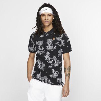 NikeCourt 男子网球翻领T恤