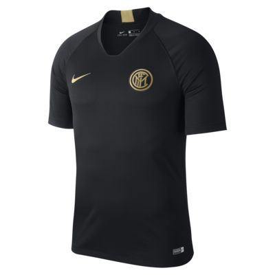 Nike Breathe Inter Milan Strike Men's Short-Sleeve Football Top