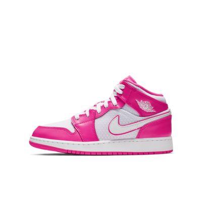 Air Jordan 1 Mid (GS)大童运动童鞋