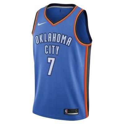 เสื้อแข่ง Nike NBA Connected ผู้ชาย Carmelo Anthony Icon Edition Swingman (Oklahoma City Thunder)