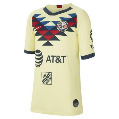 Club América 2019/20 Stadium Home Big Kids' Soccer Jersey