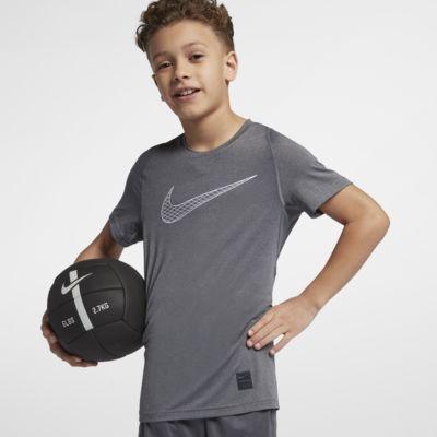Κοντομάνικη μπλούζα προπόνησης Nike Pro για μεγάλα αγόρια