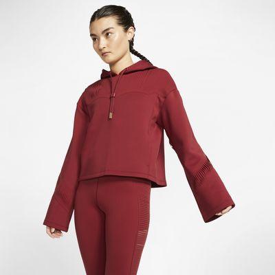 Nike Sudadera con capucha de entrenamiento con flecos - Mujer