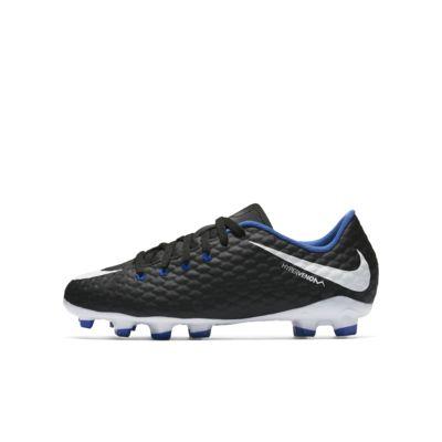 Little/Big Kids' Firm-Ground Soccer Cleat. Nike Jr. Hypervenom Phelon 3 FG